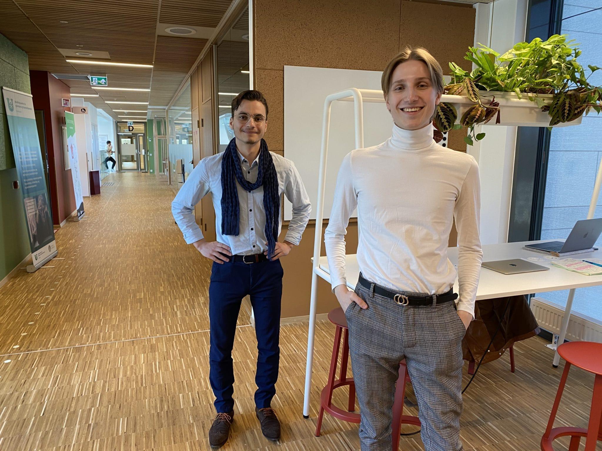 Haakon Rosland og Torbjørn Nygård
